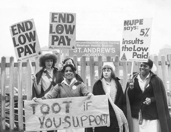 1970-1979「Nurses Demonstration」:写真・画像(7)[壁紙.com]