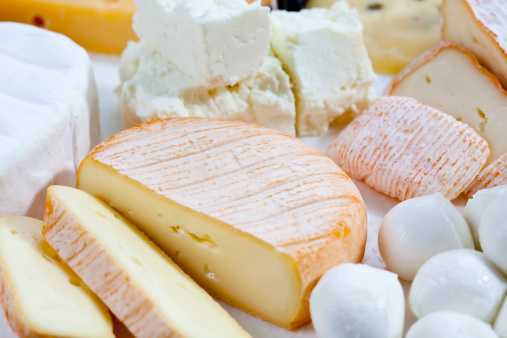 Cheese「Varieties of cheeses, close up」:スマホ壁紙(17)