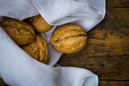 Bun - Bread「Organic spelt rolls」:スマホ壁紙(5)