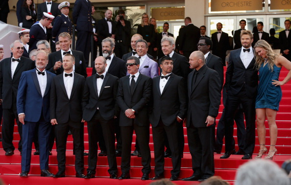 """Victor Ortiz「""""The Expendables 3"""" Premiere - The 67th Annual Cannes Film Festival」:写真・画像(10)[壁紙.com]"""