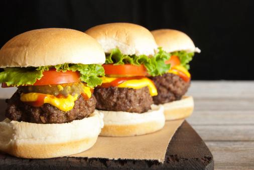 Sandwich「Hamburger Sliders in a Row」:スマホ壁紙(16)