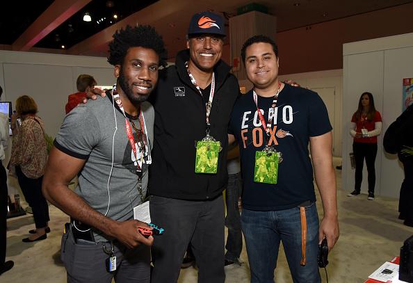 バスケットボール「Nintendo Hosts Celebrities At 2017 E3 Gaming Convention」:写真・画像(9)[壁紙.com]