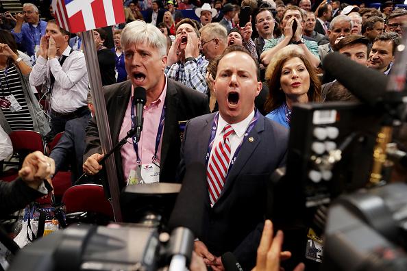 2016年共和党全国大会「Republican National Convention: Day One」:写真・画像(2)[壁紙.com]