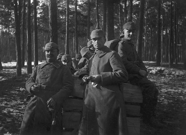 The Montifraulo Collection「German Soldiers In Woods」:写真・画像(1)[壁紙.com]