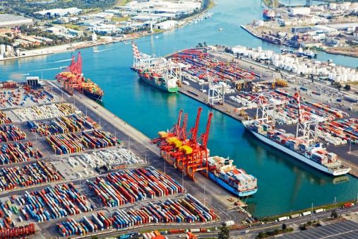 Melbourne Docklands「Ariel view over Docklands」:スマホ壁紙(14)