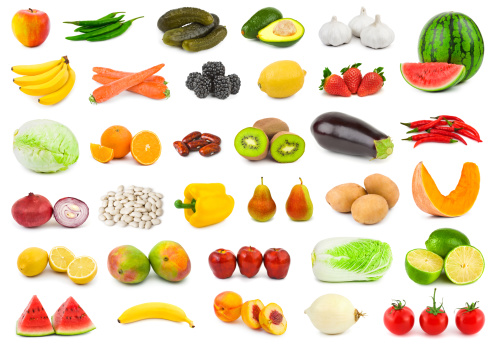 Kiwi「Fruits and vegetables」:スマホ壁紙(1)