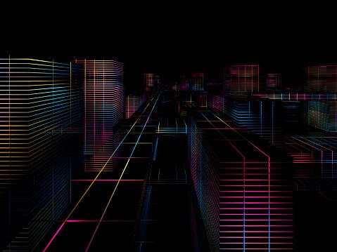 Cyber-「Cyber city」:スマホ壁紙(0)