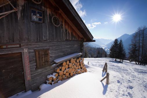 Lech River「abandoned hut in tirol austria」:スマホ壁紙(5)