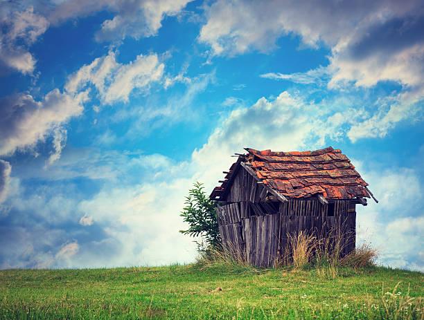 Abandoned Hut:スマホ壁紙(壁紙.com)
