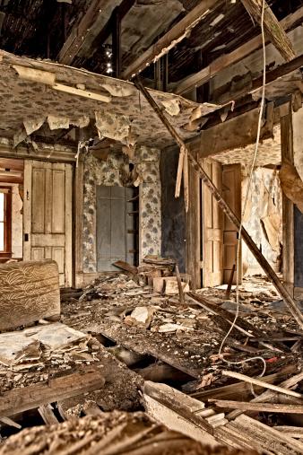 カラー画像「Abandoned house rural Nebraska」:スマホ壁紙(14)