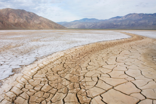 USA「Clark Dry Lake, Anza Borrego Desert State Park California, USA」:スマホ壁紙(5)