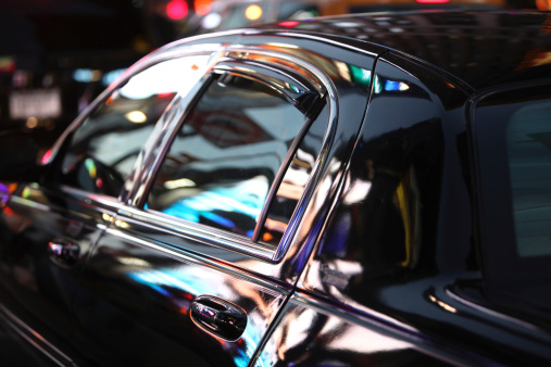 Mode of Transport「Neon Nightlife Reflected In Limo Window」:スマホ壁紙(8)