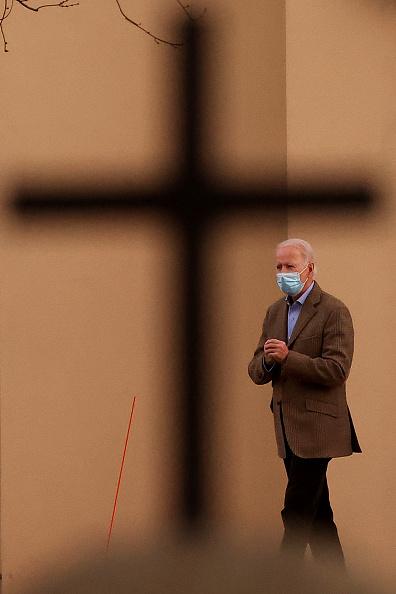 Catholicism「President-Elect Biden Attends Church In Wilmington, DE」:写真・画像(19)[壁紙.com]