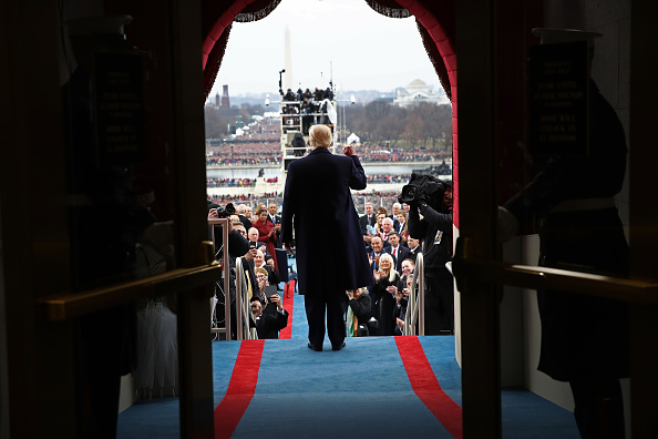 Rear View「Donald Trump Is Sworn In As 45th President Of The United States」:写真・画像(15)[壁紙.com]