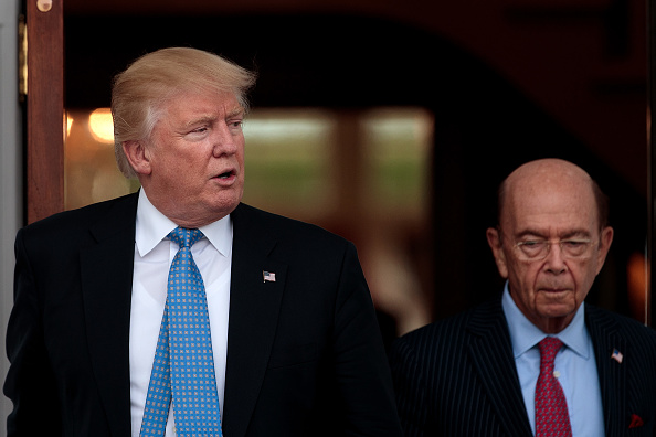 Wilbur Ross「Donald Trump Holds Weekend Meetings In Bedminster, NJ」:写真・画像(18)[壁紙.com]
