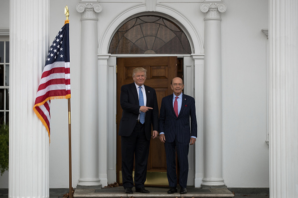 Wilbur Ross「Donald Trump Holds Weekend Meetings In Bedminster, NJ」:写真・画像(10)[壁紙.com]