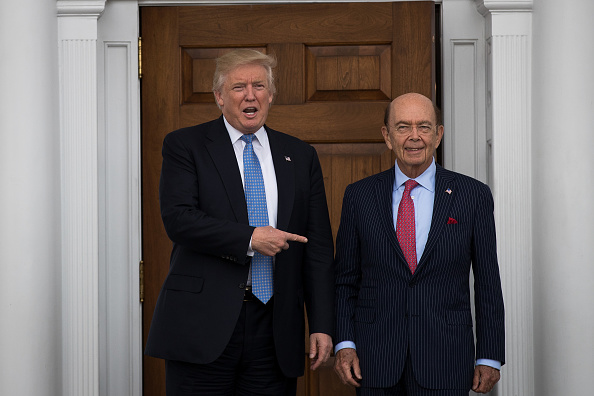 Wilbur Ross「Donald Trump Holds Weekend Meetings In Bedminster, NJ」:写真・画像(15)[壁紙.com]