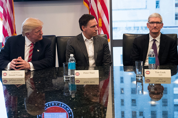 CEO「Trump Holds Summit With Technology Industry Leaders」:写真・画像(17)[壁紙.com]