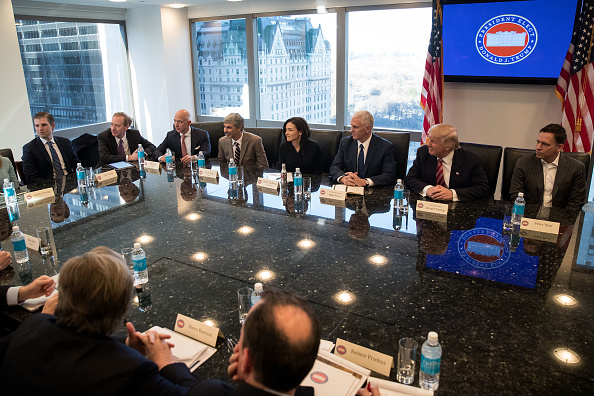 Silicon Valley「Trump Holds Summit With Technology Industry Leaders」:写真・画像(11)[壁紙.com]