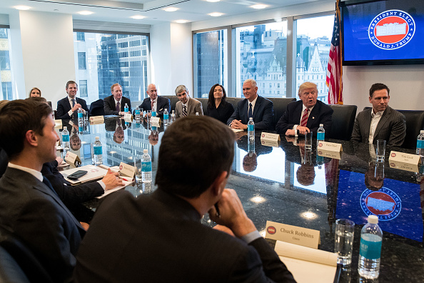 Silicon Valley「Trump Holds Summit With Technology Industry Leaders」:写真・画像(15)[壁紙.com]