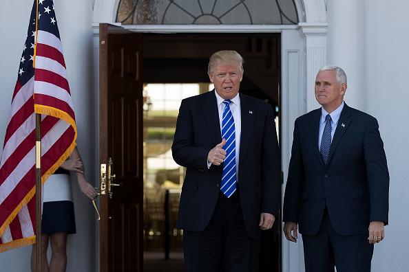 Drew Angerer「Donald Trump Holds Weekend Meetings In Bedminster, NJ」:写真・画像(7)[壁紙.com]