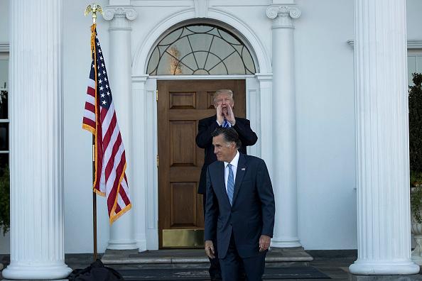 Mitt Romney「Donald Trump Holds Weekend Meetings In Bedminster, NJ」:写真・画像(16)[壁紙.com]