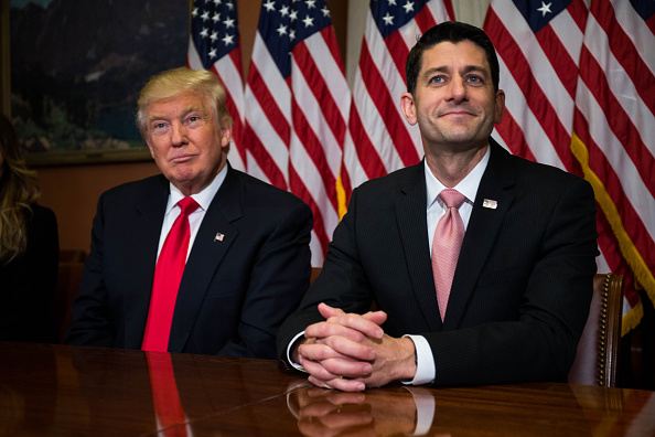 Politician「President-Elect Trump And Vice President-Elect Pence Meet With House Speaker Paul Ryan On Capitol Hill」:写真・画像(13)[壁紙.com]