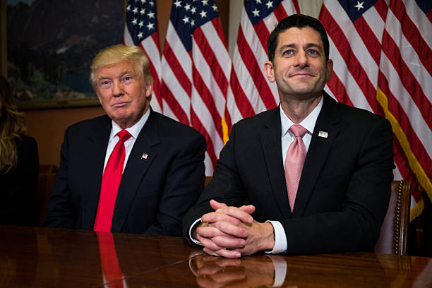 President-Elect Trump And Vice President-Elect Pence Meet With House Speaker Paul Ryan On Capitol Hill:ニュース(壁紙.com)