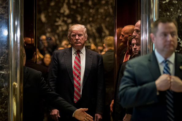 Elevator「Donald Trump Holds Meetings At Trump Tower」:写真・画像(6)[壁紙.com]