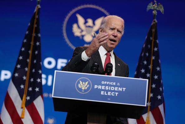 Business Person「President-Elect Biden And VP-Elect Harris Deliver Remarks In Wilmington, DE」:写真・画像(7)[壁紙.com]