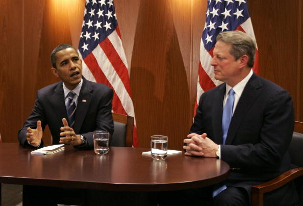 Bestof「Obama Meets With Al Gore On Energy And Climate Issues」:写真・画像(4)[壁紙.com]