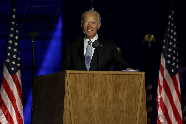 Speech「President-Elect Joe Biden And Vice President-Elect Kamala Harris Address The Nation After Election Win」:写真・画像(1)[壁紙.com]