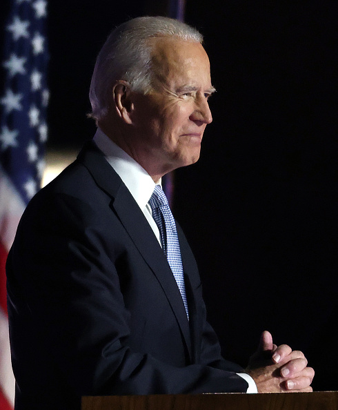 Speech「President-Elect Joe Biden And Vice President-Elect Kamala Harris Address The Nation After Election Win」:写真・画像(2)[壁紙.com]