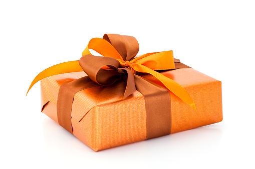 Silk「orange gift box」:スマホ壁紙(3)
