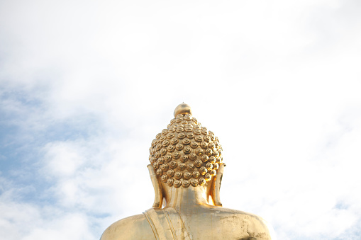 Praying「Huge Golden Buddha at the Golden Triangle」:スマホ壁紙(5)