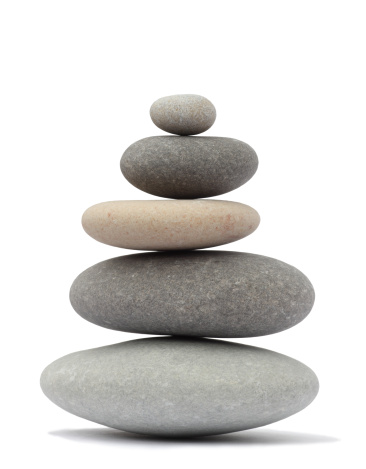 Purity「Finely balanced stack of five rounded pebbles」:スマホ壁紙(17)