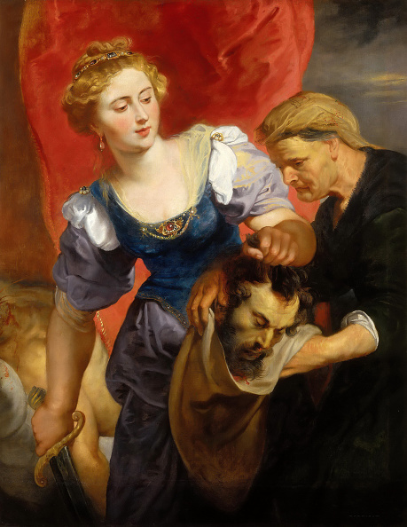 Salome - Daughter of Herodias「Judith With The Head Of Holophernes」:写真・画像(6)[壁紙.com]