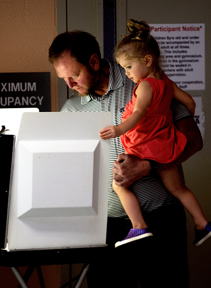 Tallahassee「Voters Across The Country Head To The Polls For The Midterm Elections」:写真・画像(19)[壁紙.com]