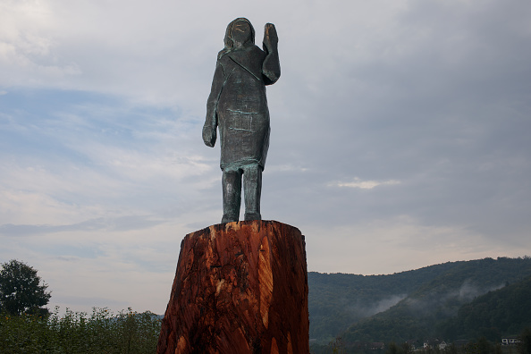Slovenia「Melania Trump Statue Reinvented」:写真・画像(6)[壁紙.com]