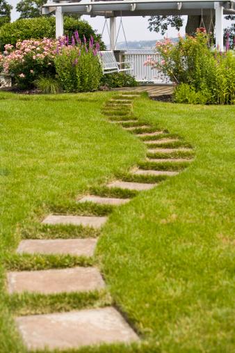 Paving Stone「garden path 」:スマホ壁紙(12)