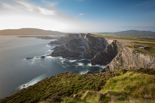 Republic of Ireland「The famous Kerry Cliffs near Portmagee, Ring of Kerry, Ireland」:スマホ壁紙(10)