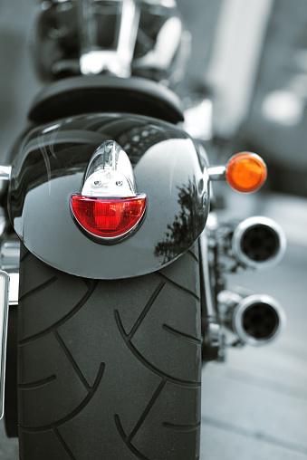 Motorcycle「Custom motorbike wirh large tire」:スマホ壁紙(8)