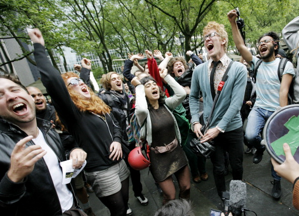 社会問題「Occupy Wall Street Movement Joins With Activists Group For May Day Demonstrations」:写真・画像(2)[壁紙.com]