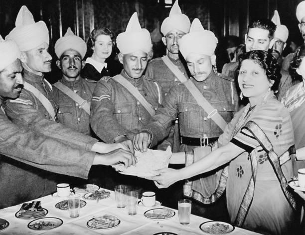 Indian Troops In London:ニュース(壁紙.com)