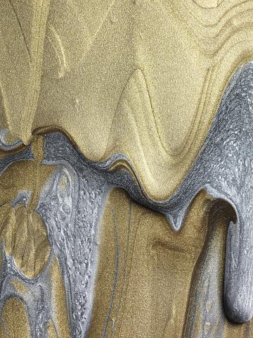 Glitter「Gold and silver glitter paint」:スマホ壁紙(18)