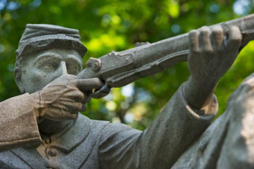 Daniel Gi「Monument at Gettysburg National Memorial Park」:スマホ壁紙(8)