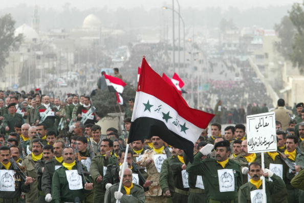 USA「Thousands March In Iraq In Defiance Of U.S. Threats」:写真・画像(17)[壁紙.com]