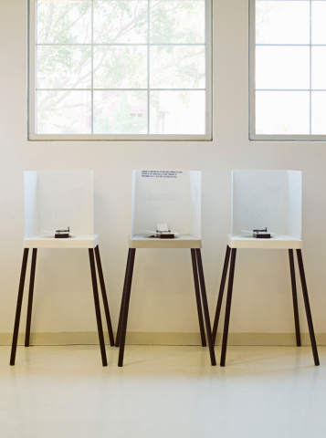 Polling Place「Voting booths」:スマホ壁紙(6)