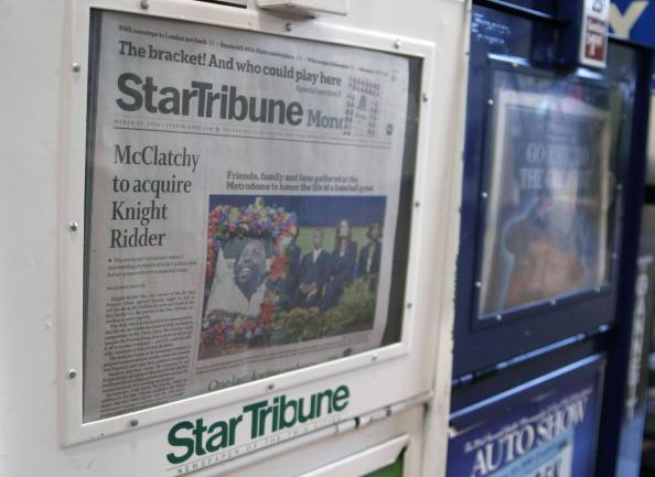 Minnesota「McClatchy Company To Buy Knight Ridder Newspaper Chain」:写真・画像(18)[壁紙.com]
