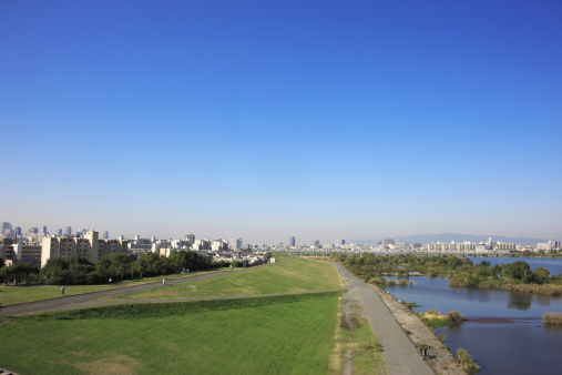 Water's Edge「River and City」:スマホ壁紙(12)